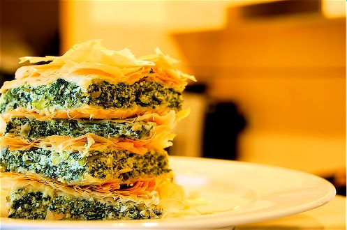 Spanakopita OR Spinach and Fetta Pie - Souvlaki For The Soul