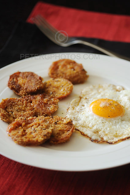 fried kumato breakfast