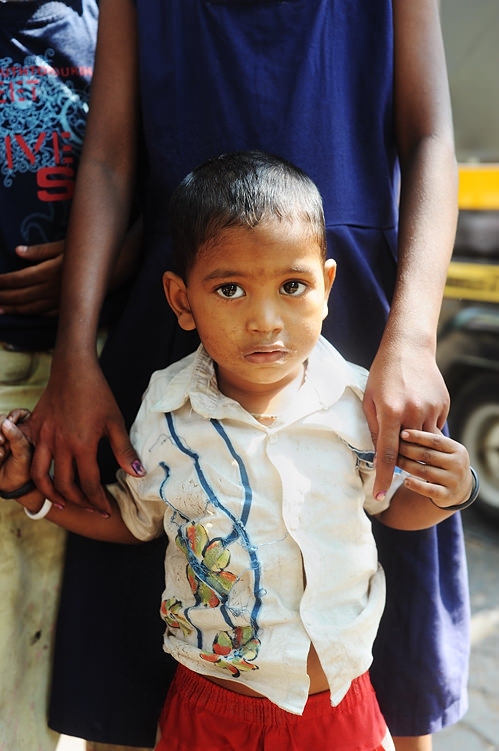 Indian child in Mumabi