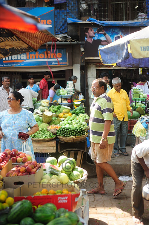 food markets of Mumbai