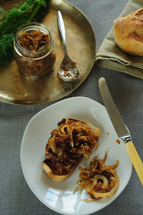 fennel relish with sourdough