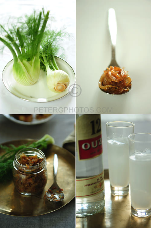 fennel relish with ouzo