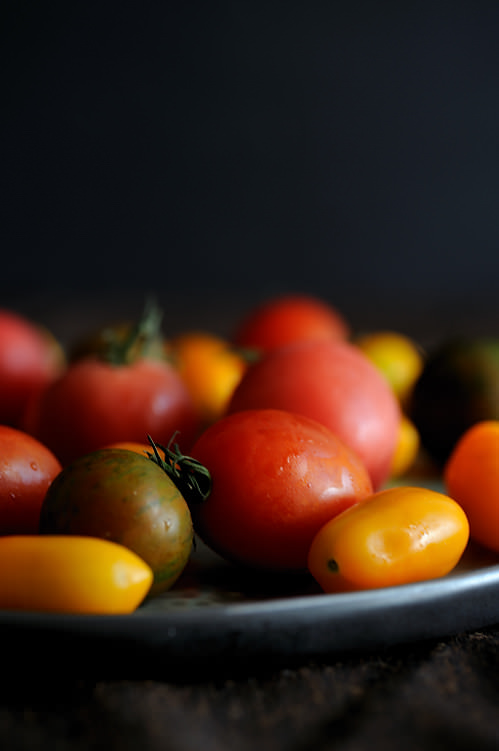 heirloom tomato medley