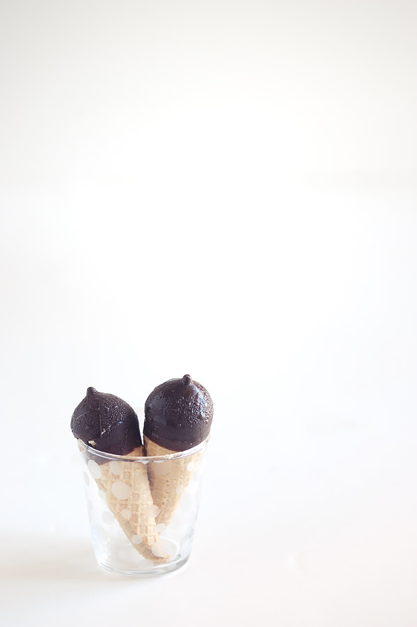 choc coated ice cream cones