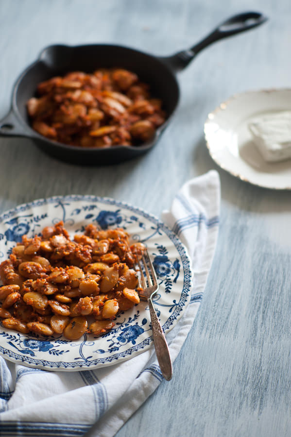 Greek Style Baked Beans - Souvlaki For The Soul
