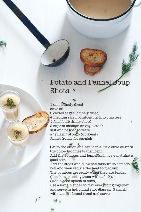 potato and fennel soup recipe