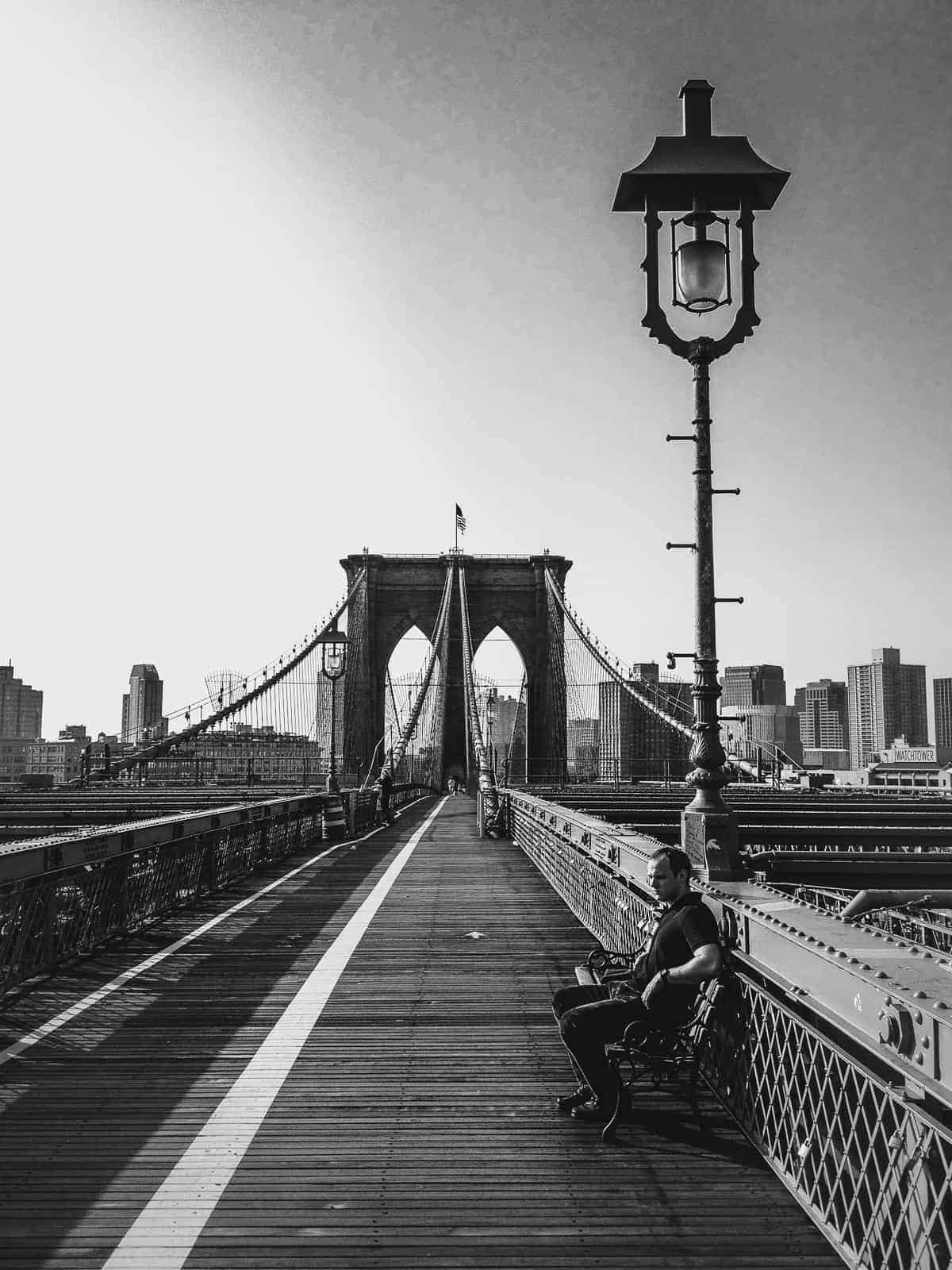 The Brooklyn Bridge New York City