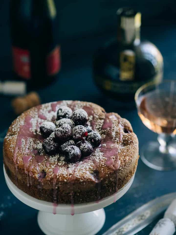 chambord cherry cake recipe