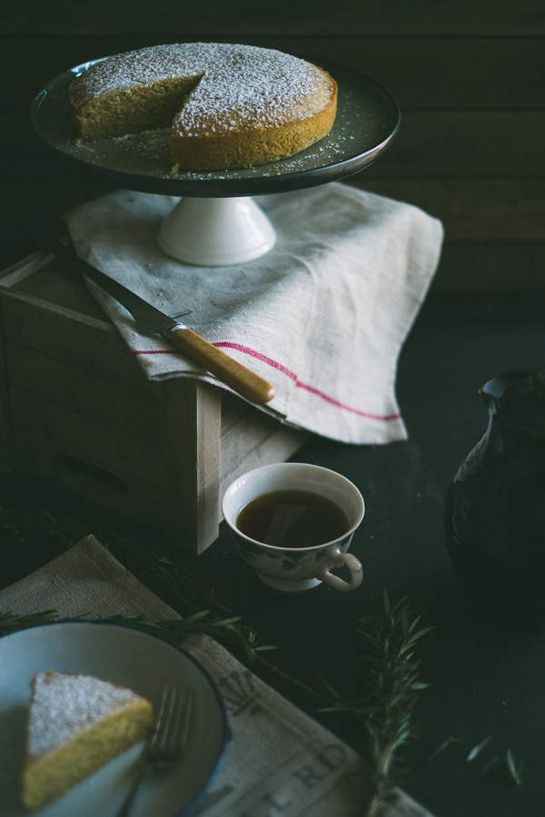 Lemon Semolina And Olive Oil Cake