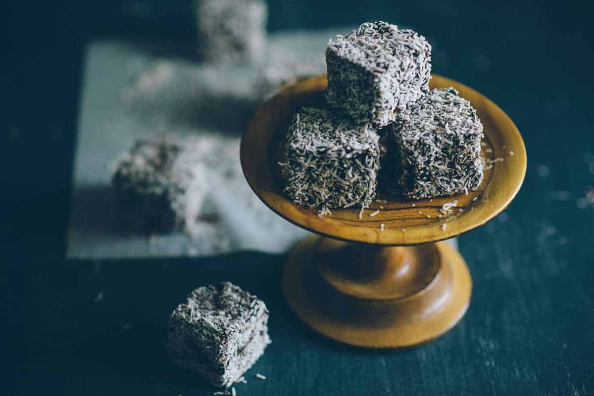 gluten free lamingtons recipe