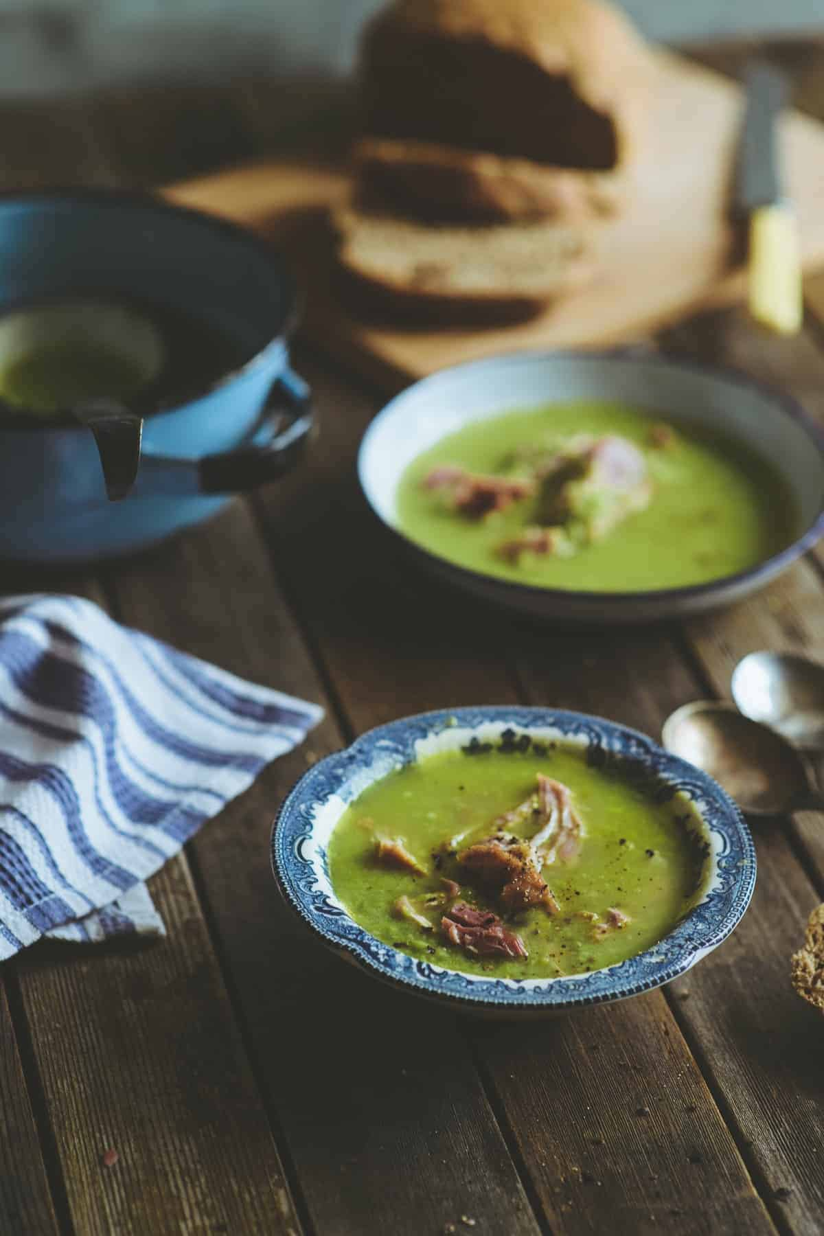 home made pea and ham soup recipe