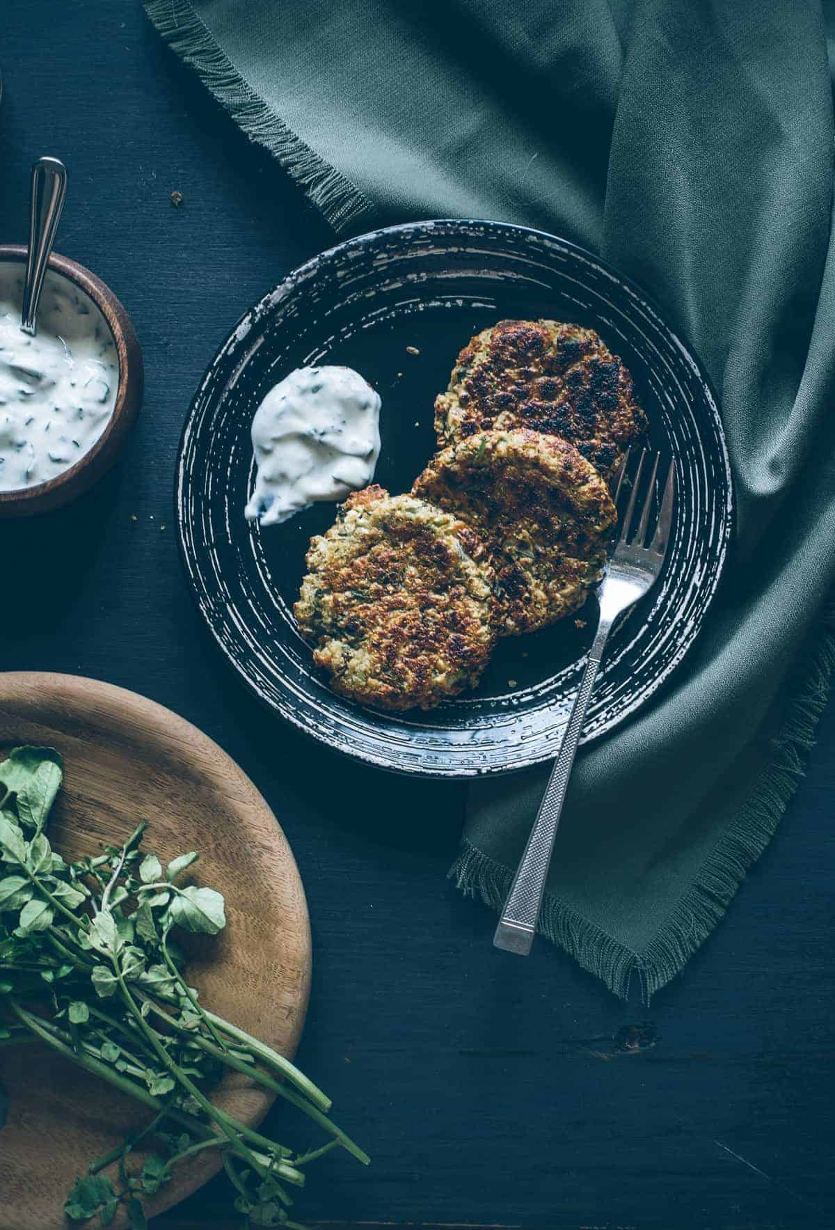 quick and easy lentil cakes recipe