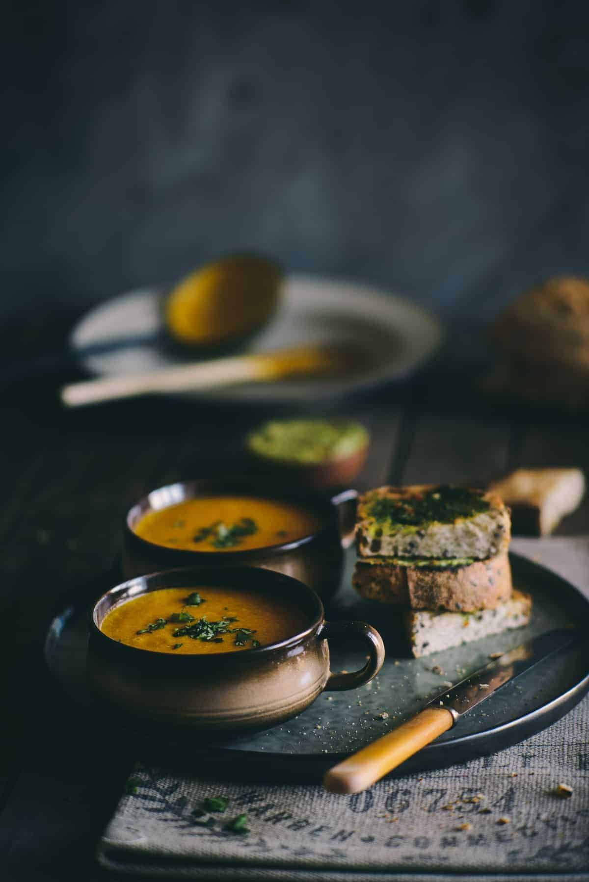 Carrot and Orange Soup - Souvlaki For The Soul