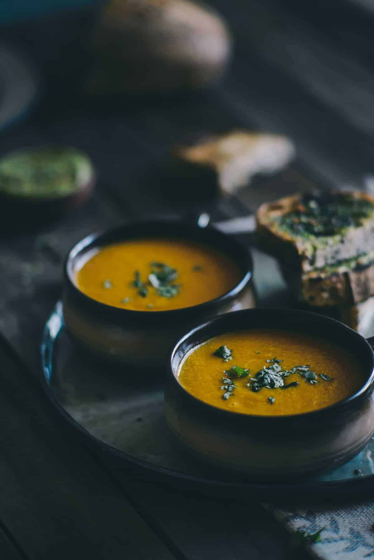 carrot and orange soup recipe