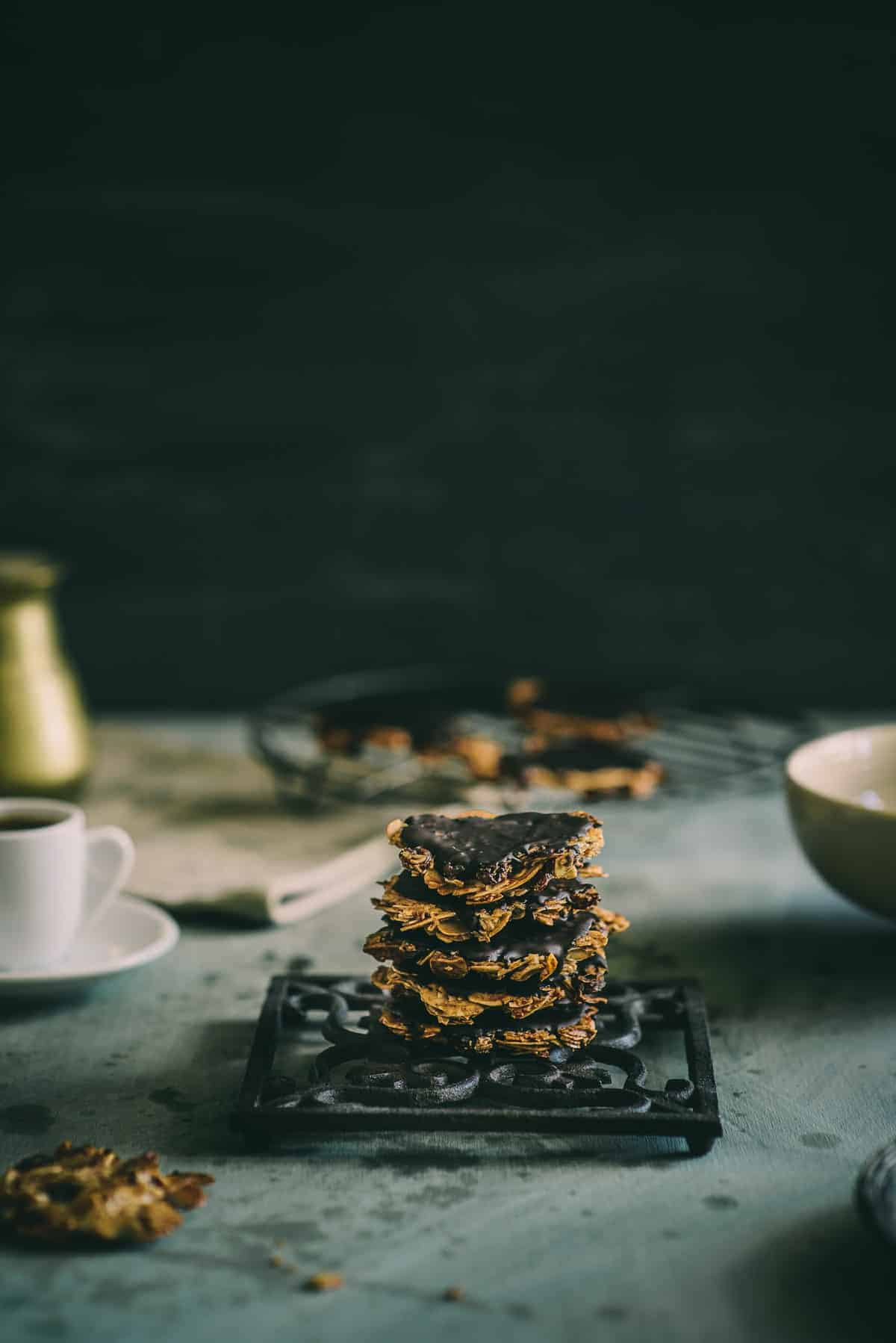 chocolate florentines recipe