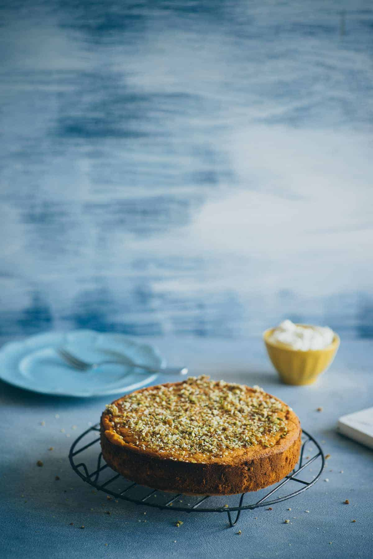 original orange and almond cake