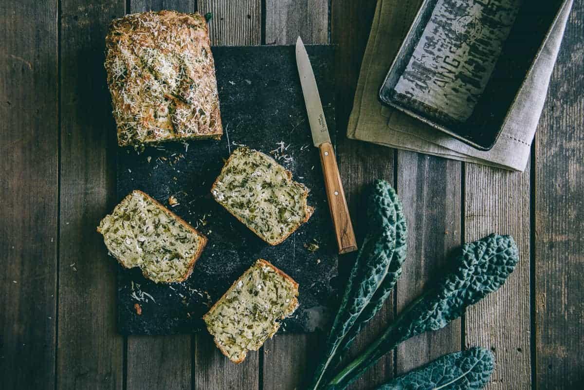 kale and fetta bread recipe