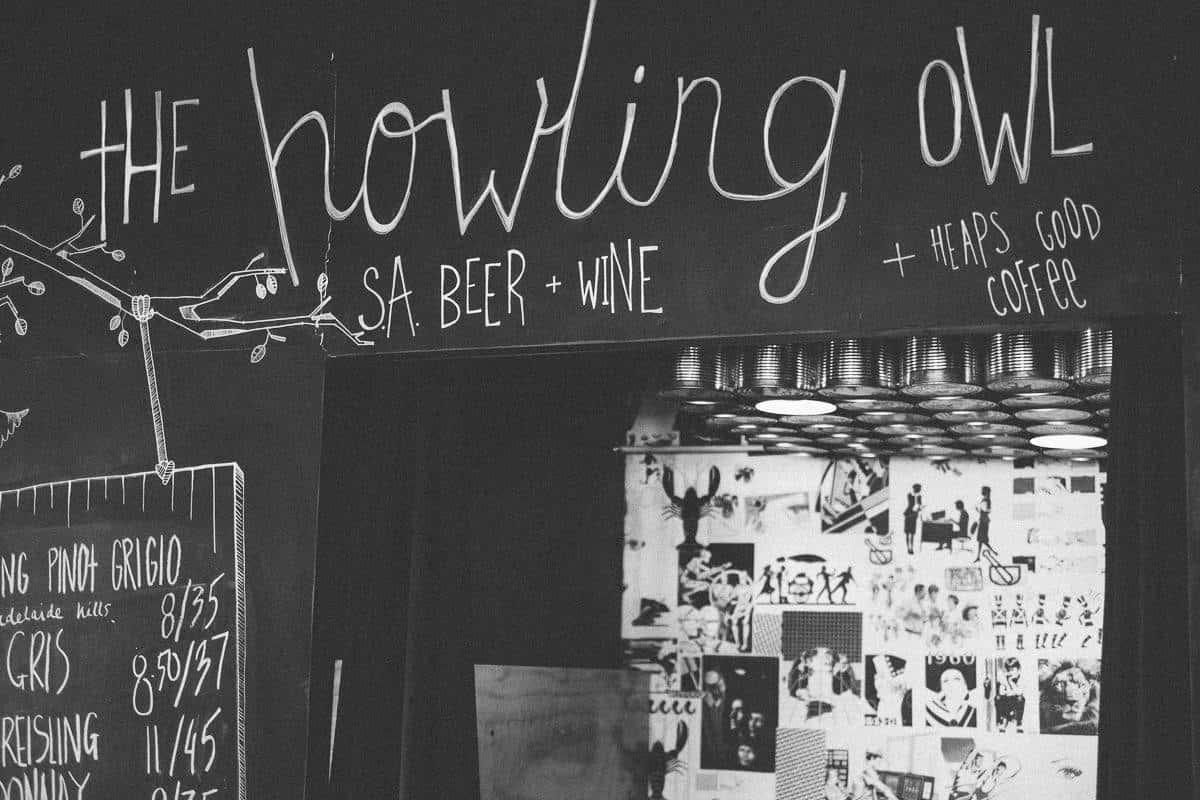 Howling Owl Cafe Adelaide