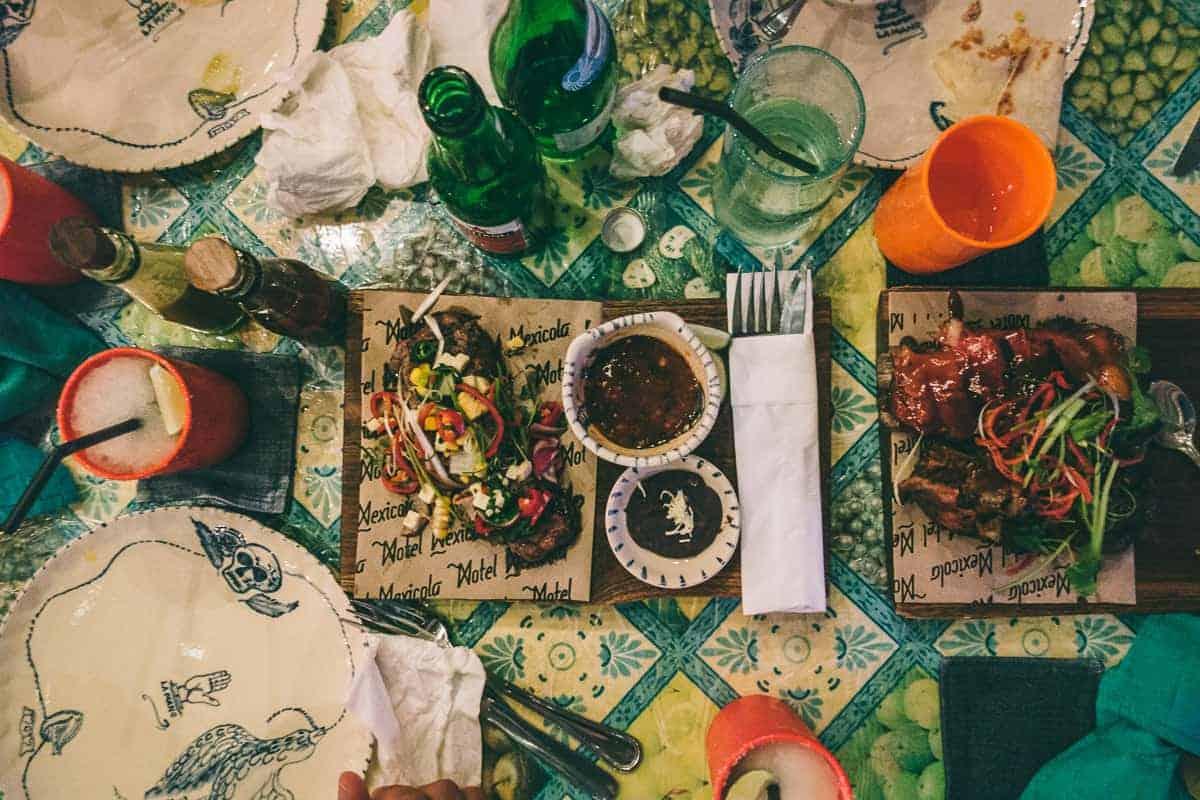 motel mexicola Bali pork ribs and beef