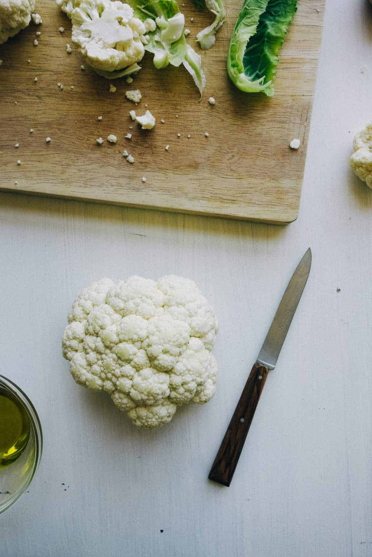 Roasted Cauliflower and Chickpea Salad - Souvlaki For The Soul