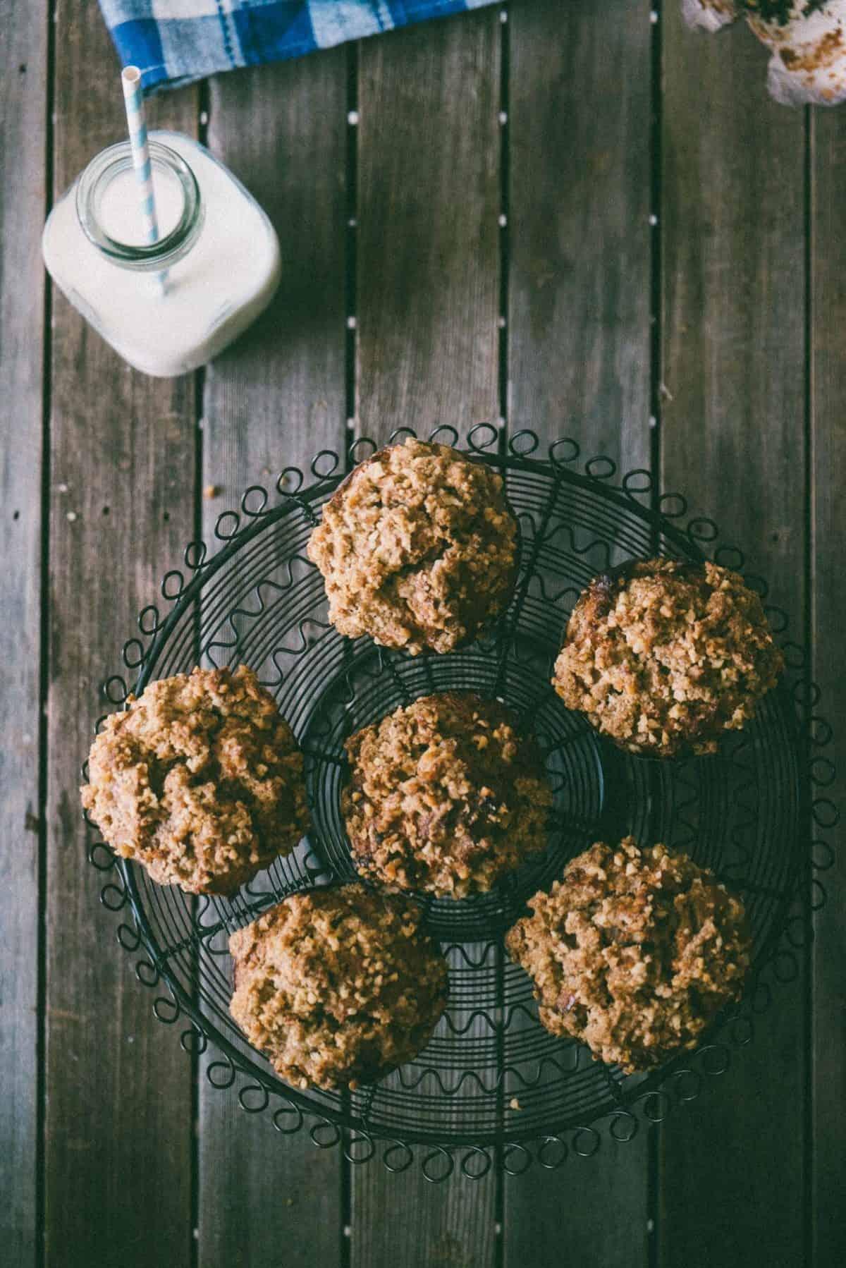 walnut muffins recipe