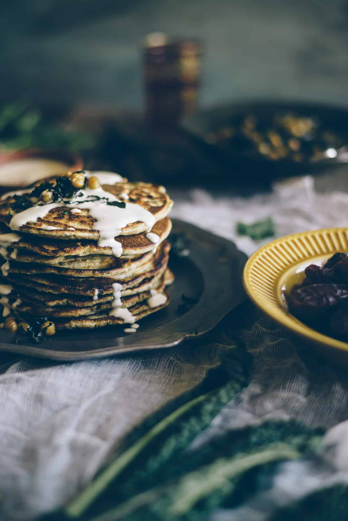 Middle Eastern pancakes