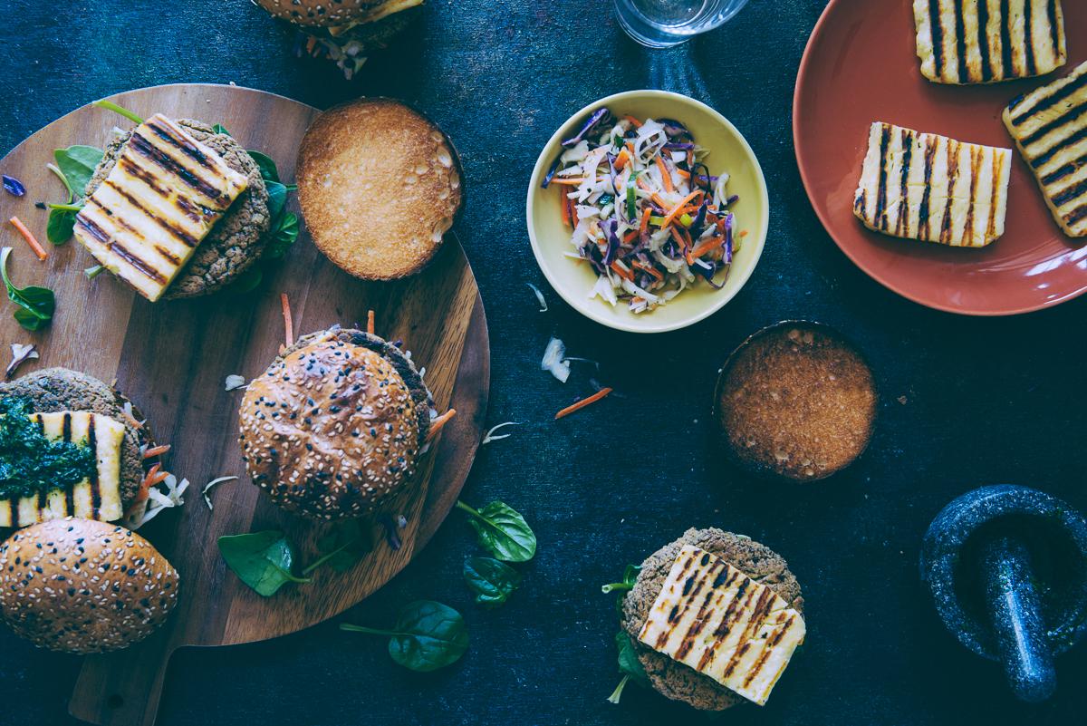 chickpea and quinoa burgers recipe