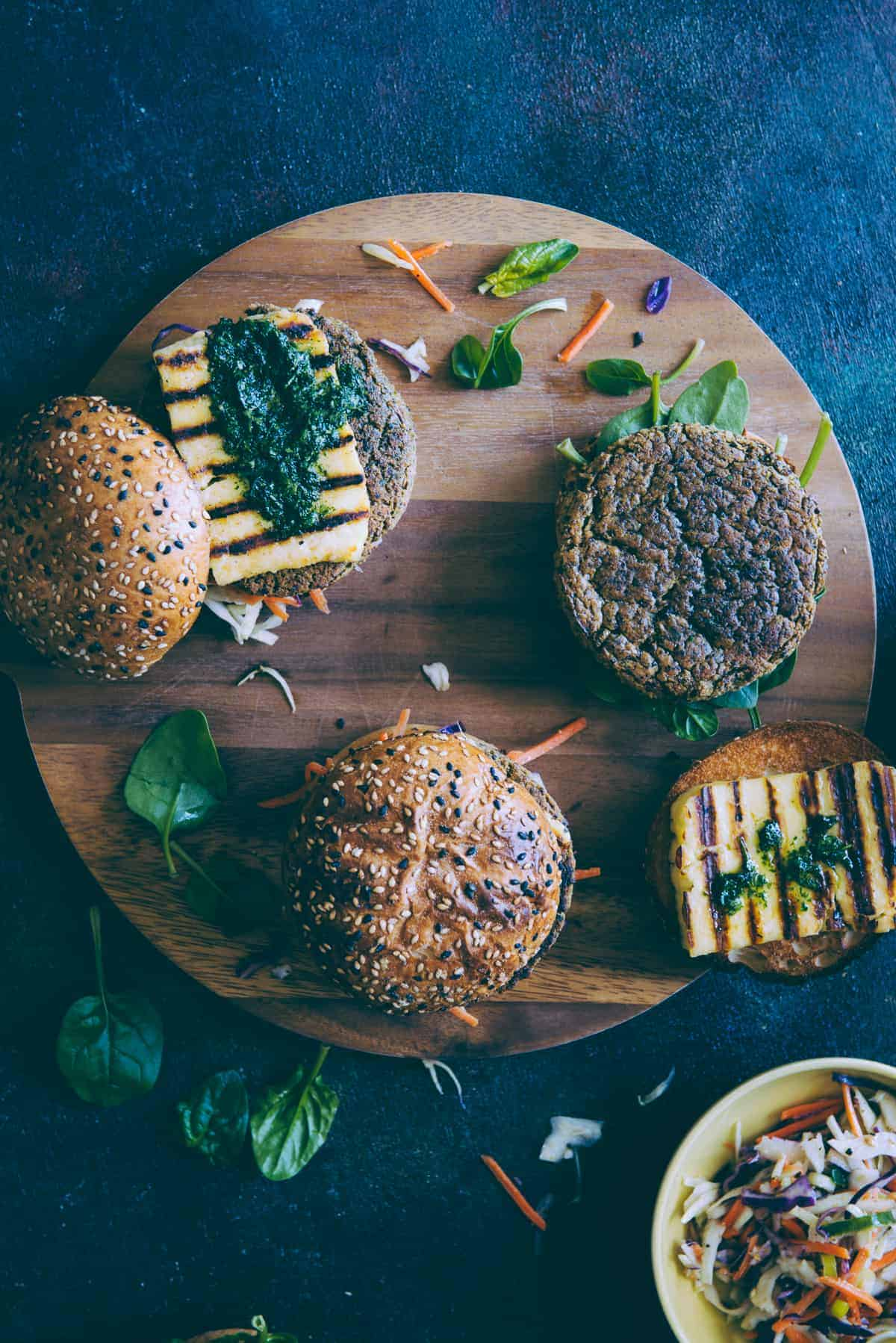 chickpea and quinoa burgers recipe