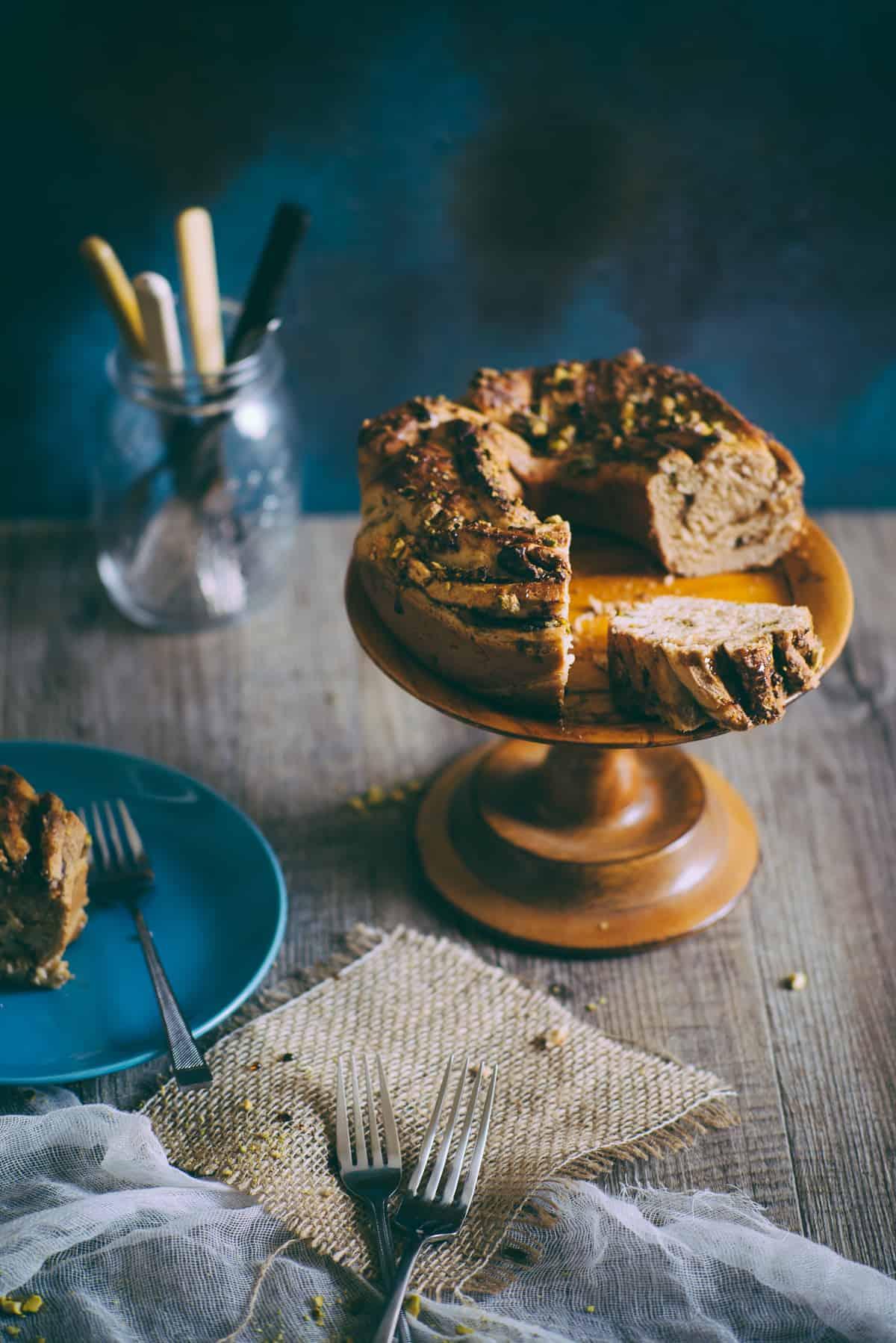 cardamom bread wreath recipe