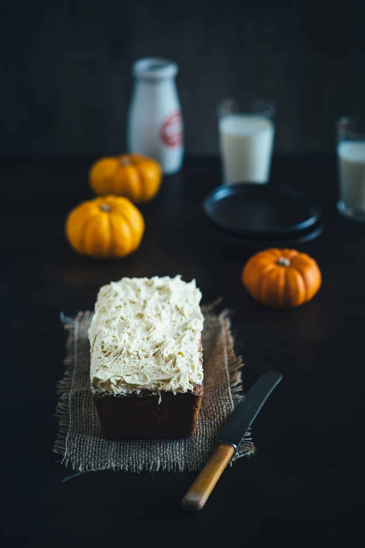 pumpkin maple cake recipe