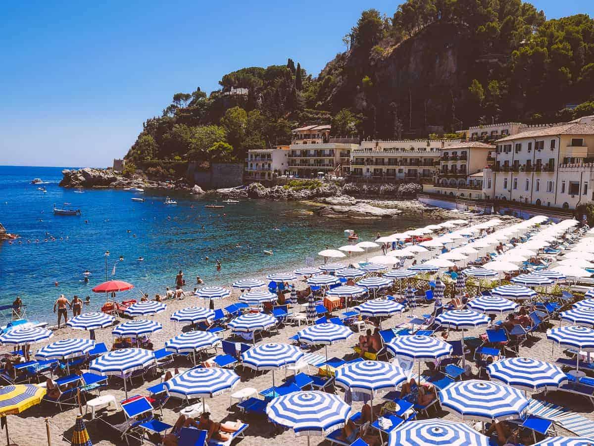 Mazzaro Beach Taormina Sicily