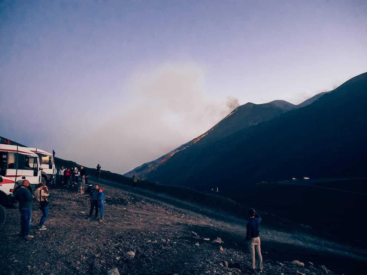 Mount Etna Sicily
