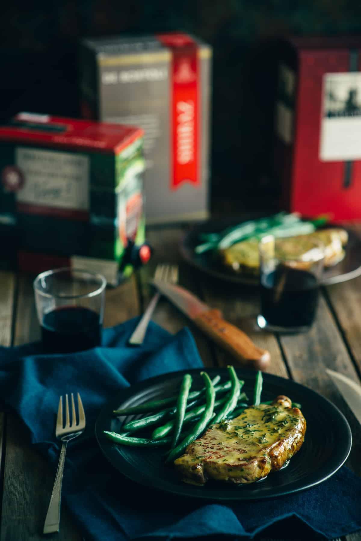 steak diane recipe