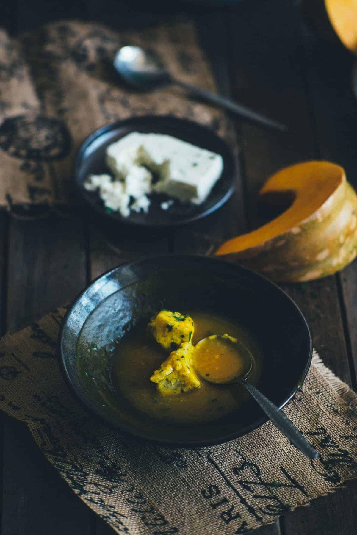 feta dumplings recipe