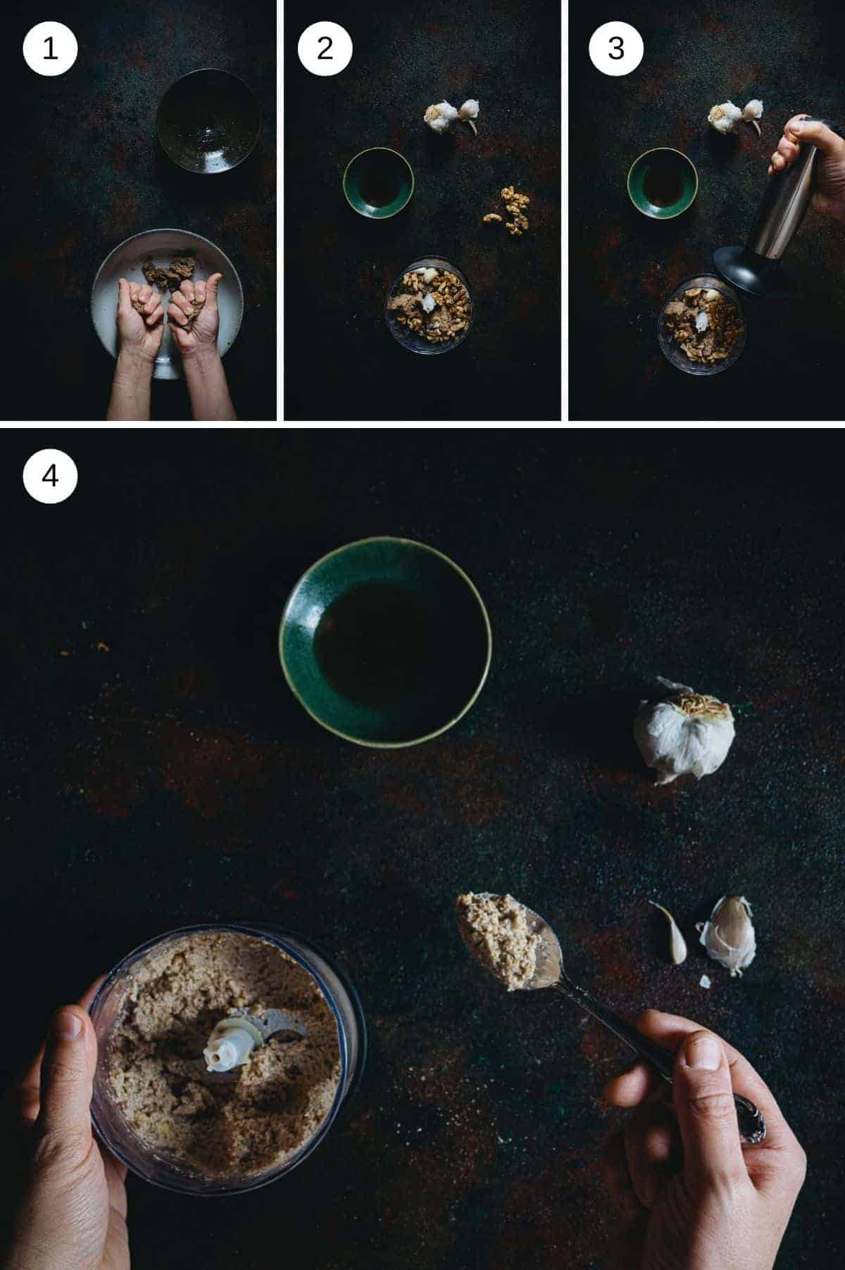 step by step instructions to make a dip